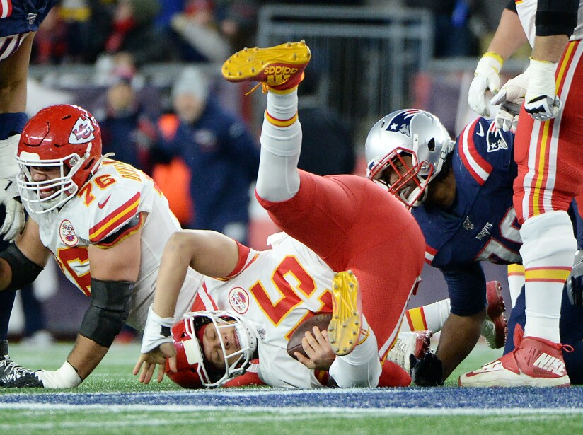 Kansas City Chiefs v New England Patriots