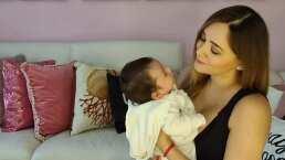Así es cómo Sherlyn platica con su bebé André, y él le responde con coquetas sonrisitas (VIDEO)