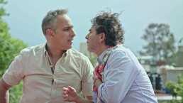 Este fue el beso que se dieron Julio Bracho y Raúl Araiza en 'Alma de ángel'