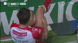 Unai Bilbao abandona el juego entre lágrimas tras aparatosa lesión