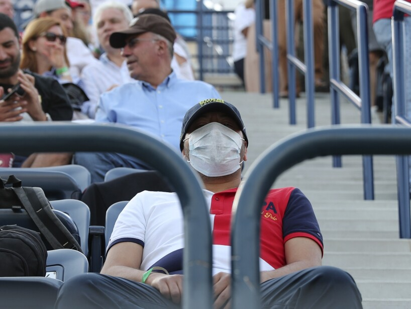 Virus Outbreak-Tours Suspended Tennis