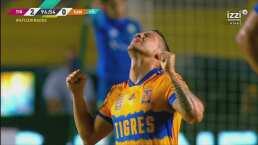 ¡Sella la victoria de Tigres! 'Diente' López anota el 2-0