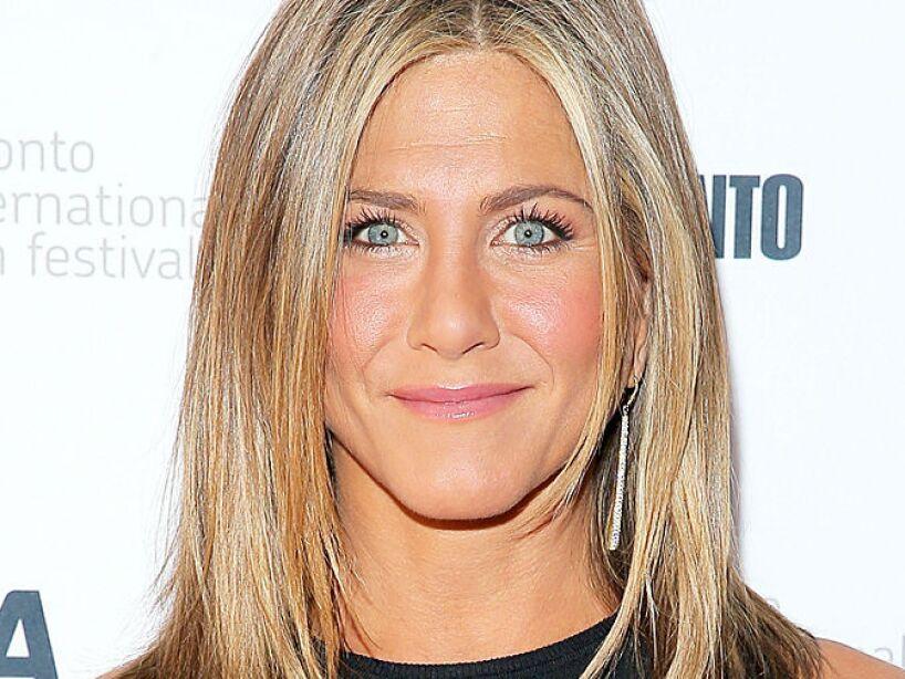 8. Jennifer Aniston: La guapa actriz se metió en el top ten, con la misma cifra que Matt Damon.