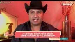 Julión Álvarez cuenta las razones por las que se guardó en su rancho en esta pandemia