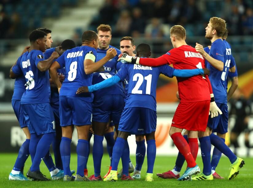KAA Gent v VfL Wolfsburg: Group I - UEFA Europa League