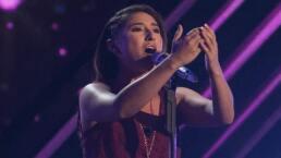 ¡Emma Cabrera deleita con su grandiosa voz!