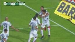 ¡Qué cabezazo! Nicolás Freire anota el 1-0 en un gran tiro de esquina