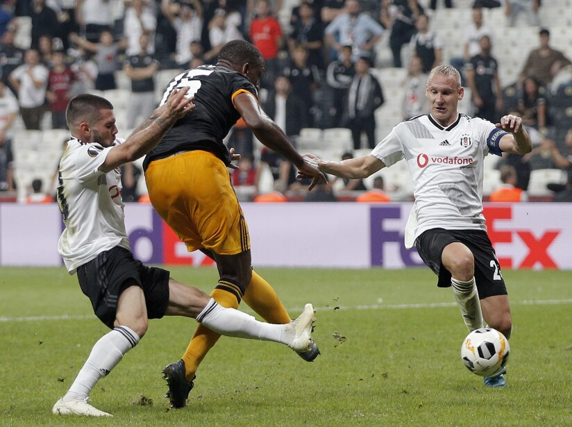 Besiktas v Wolverhampton Wanderers: Group K - UEFA Europa League
