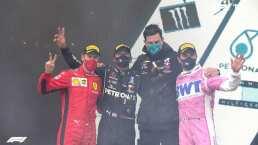 Checo Pérez es segundo en el Gran Premio de Turquía