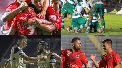 J6 (22/10/19): Veracruz 1-0 Alebrijes, Correcaminos 0-4 Santos, Tijuana 2-0 Mineros, Dorados 2-1 Necaxa.