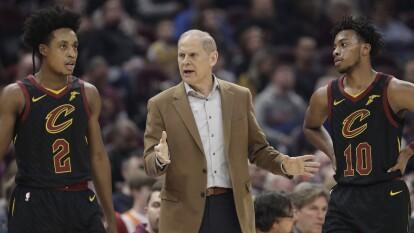 Vencieron a los Atlanta Hawks pero se mantienen en el último lugar de la Conferencia Este. | Cleveland Cavaliers 127-105 Atlanta Hawks