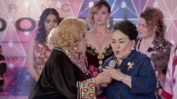 Crisanta arruina el desfile de modas de Imelda