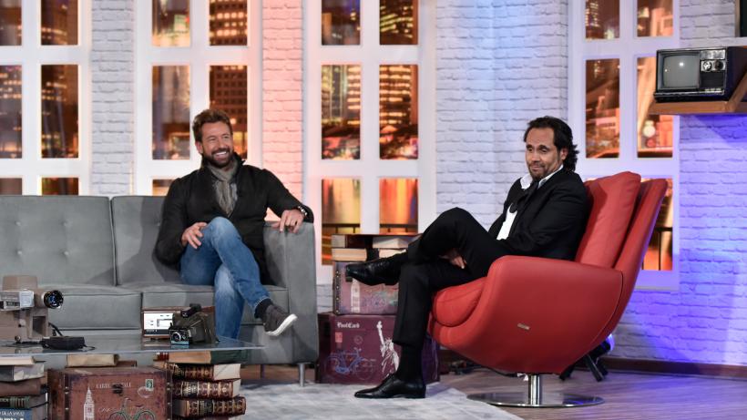 ¡Gabriel Soto vive una entrevista perfecta en Doble sentido!