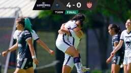 Resumen   Pumas golea 4-0 a Necaxa y se acerca a la Liguilla
