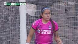 ¡Extraordinario! Karla Morales 'vuela' y Cruz Azul se salva