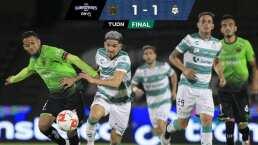 FC Juárez 1-1 Santos   Garnica le arrebata el triunfo a los Bravos