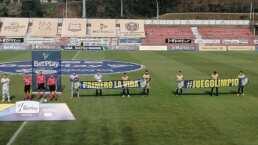 En Colombia un equipo jugó con solo siete elementos
