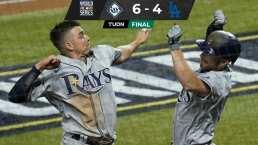 Resumen | Rays derrota 6-4 a Dodgers y empata la Serie Mundial