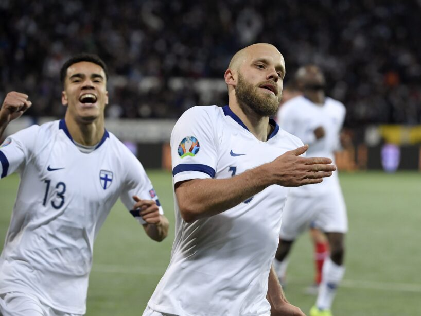 Finland Liechtenstein Euro 2020 Soccer