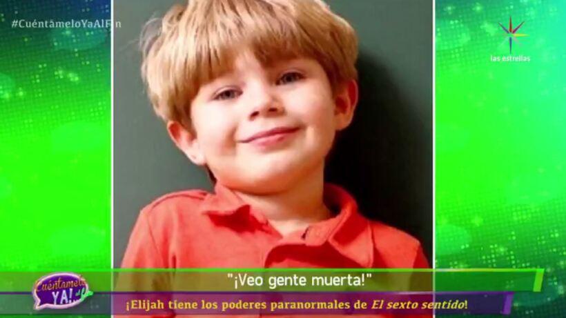 VIDEO: ¡Conoce a Elijah,  un niño con poderes paranormales!