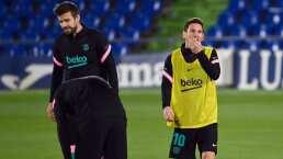Con Messi y Fati, el XI de Barcelona ante Ferencvaros