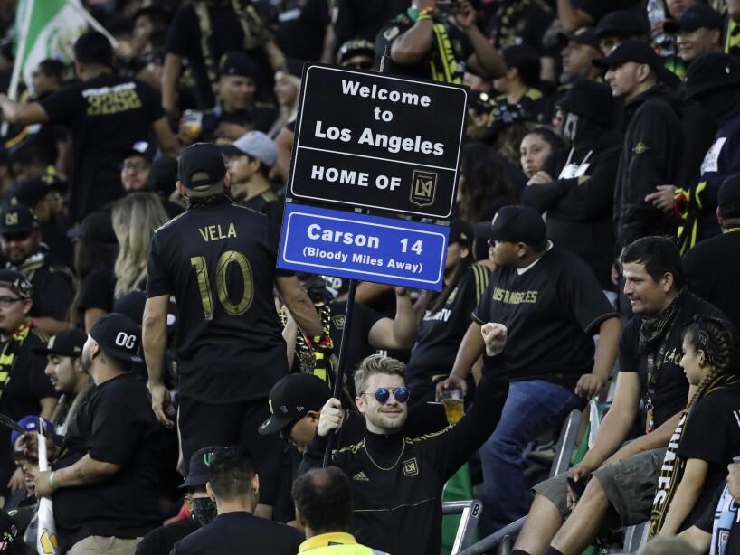 MLS Galaxy LAFC Soccer