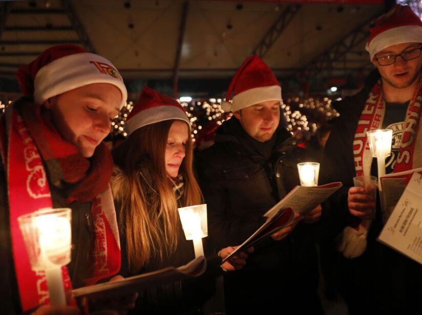 FC Union Fans Gather For Annual Christmas Carols
