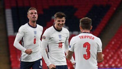Inglaterra se impone a Bélgica en la UEFA Nations League