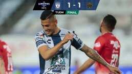 'Comandante' Quiroga debuta con gol en Pachuca y logra empate contra Bravos