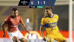Resumen | Bravos frena victorias al hilo de Tigres con 1-1 en el 'Volcán'