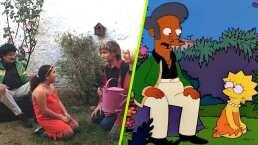 ¡Lo hacen de nuevo! Fanáticos imitan a la perfección escena de Los Simpson