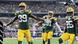 Packers domina a los Cowboys en su casa