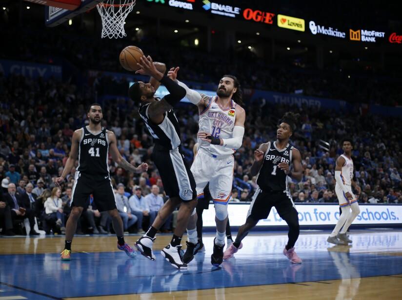 Spurs Thunder Basketball