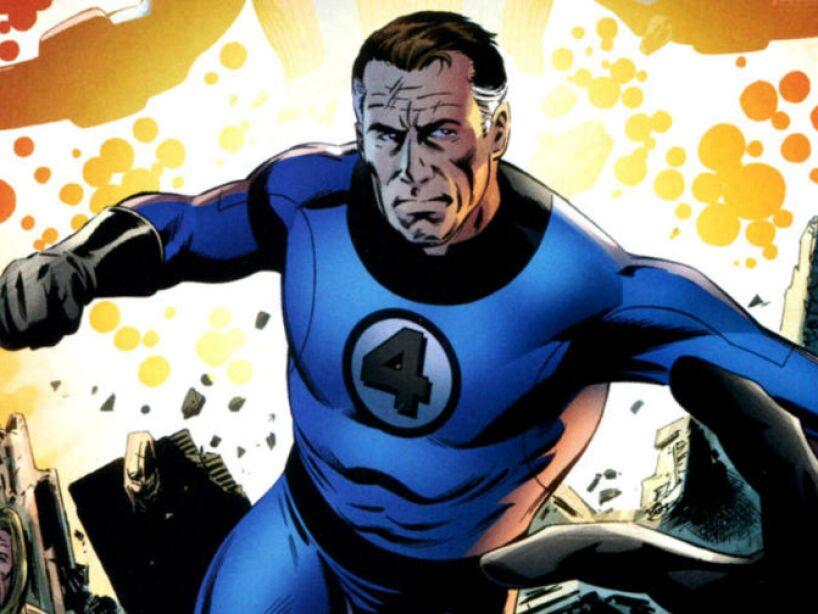 4. Reed Richards, Mr. Fantastic: Reed heredó un nivel enorme de inteligencia y además es elástico.
