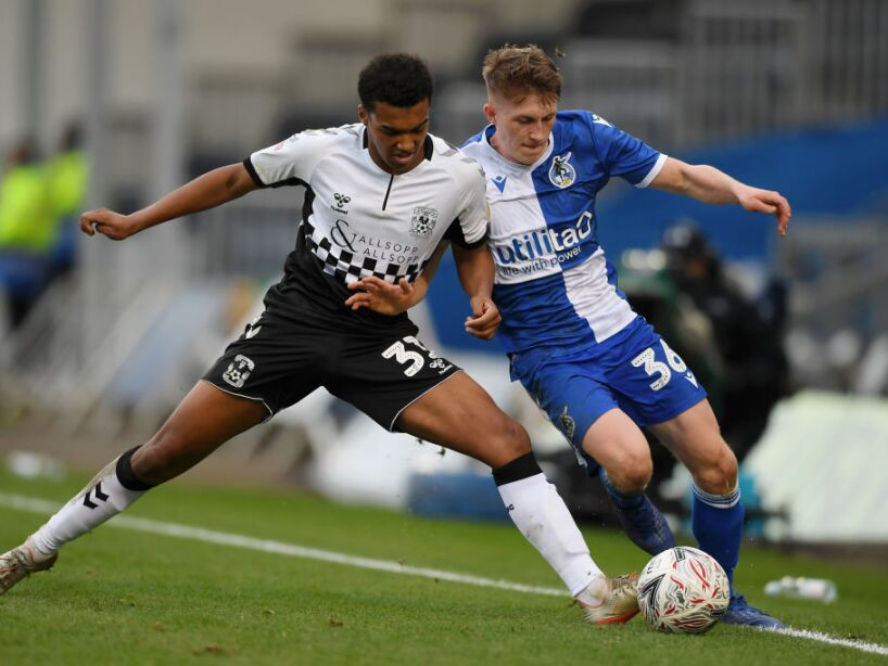 Bristol Rovers v Coventry City - FA Cup Third Round