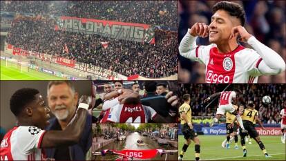 El Ajax, semifinalista de la temporada pasada, ha vuelto a clasificar para enfrentarse al equipo de LOSC que reaparece después de siete años.