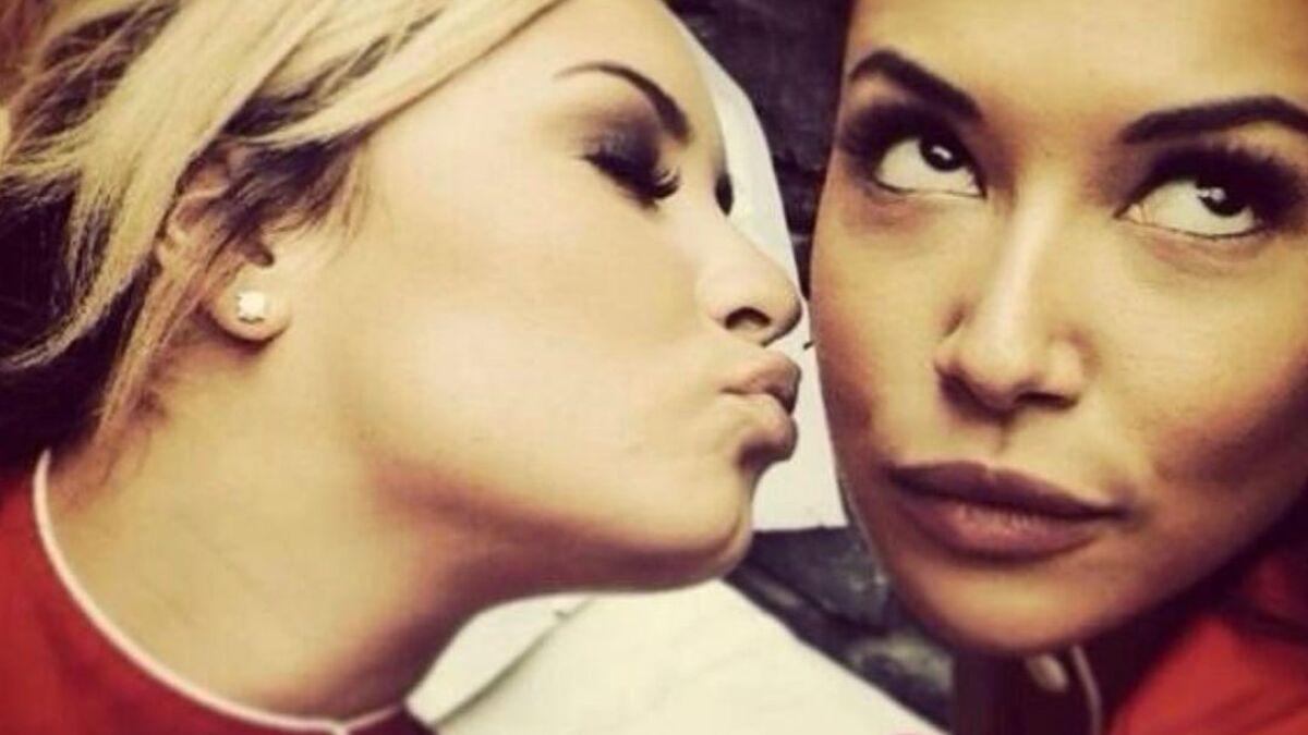 Demi Lovato, novia de Naya Rivera en 'Glee', le agradeció por ayudarla a definir su sexualidad | Entretenimiento