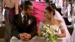 Asi fue la boda de Aurora y Mariano