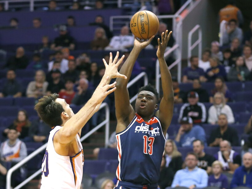 Phoenix Suns 132-140 Washington Wizards