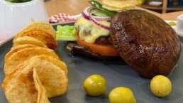 RECETA: Hamburguesa de hongo portobello
