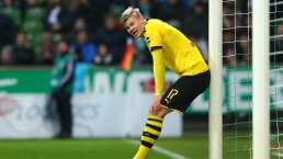 Haaland anota con el Borussia Dortmund cada 44 minutos