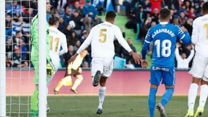 El Madrid rompe una racha de tres empates seguidos en La Liga y llega a 40 puntos.