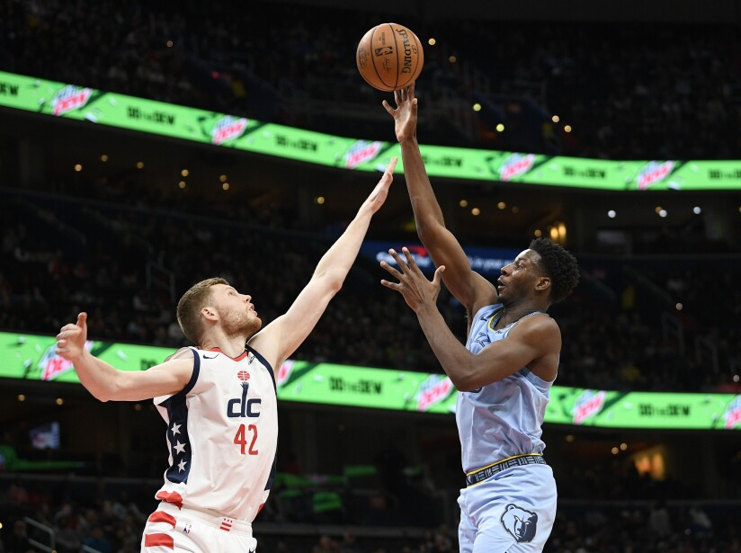 Grizzlies Wizards Basketball