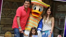 Llega El Burro con su familia a Epcot Center