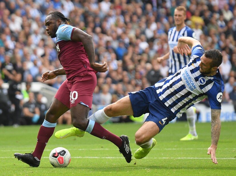 Brighton & Hove Albion v West Ham United - Premier League