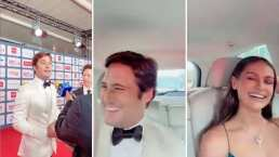 Diego Boneta se quedó sin palabras al ver la belleza de su novia Renata Notni
