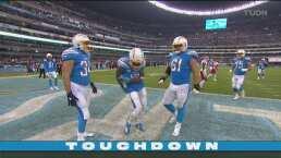 Rivers encuentra a Keenan Allen para el touchdown