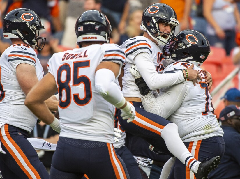 Chicago Bears vs Denver Broncos