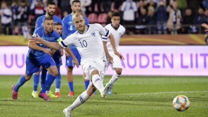 Teemu Pukki es el actual ídolo de la Selección de Finlandia, gracias a sus goles y actuaciones.