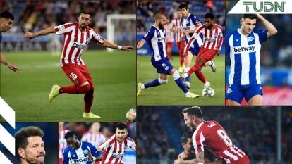 Los colchoneros se colocan en segunda posición de la tabla de LaLiga con este empate de 1-1 ante el Alavés.